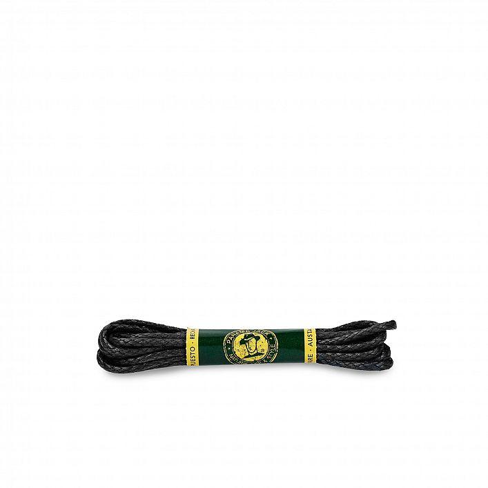 Zwart veters 125 Cm