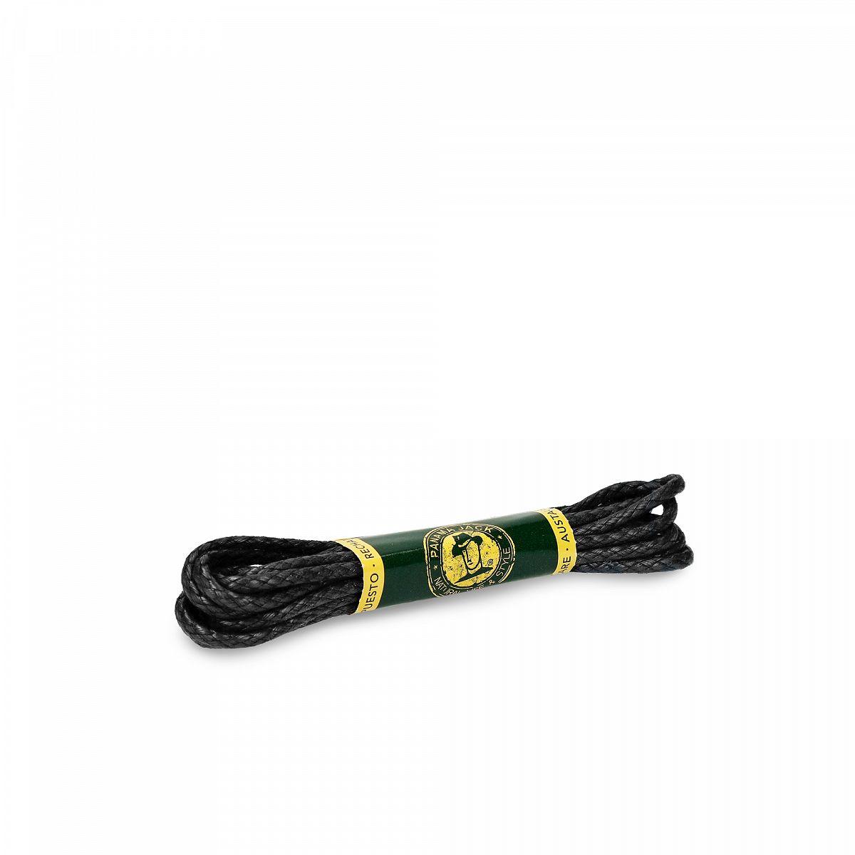 Cordón negro 125 Cm Negro Algodon
