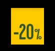 20% descuento Nacional