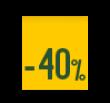 40% descuento Internacional